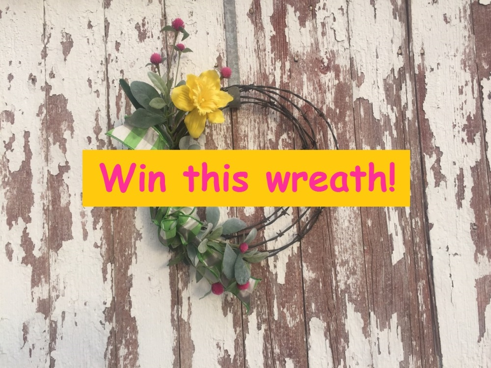 Win a Barb Wire Wreath!