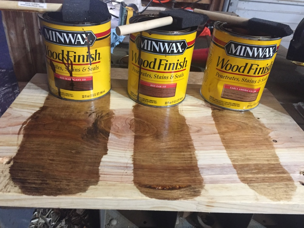 Wood Stain Choices