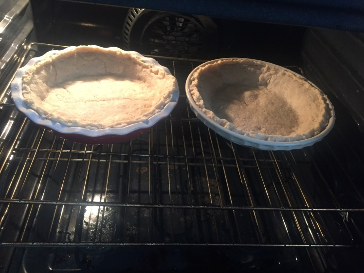 Pie Crusts in the Oven