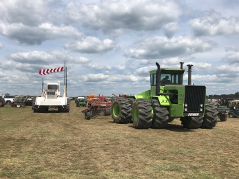 Big Bud and Steiger tractors for Disc Demonstrations