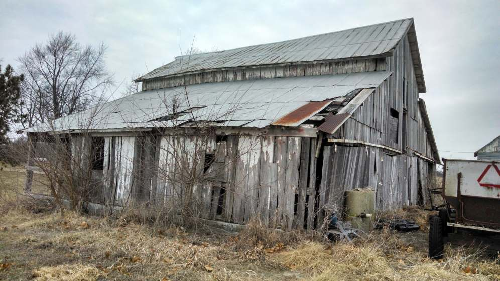 Old Barn South and East Side