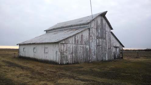 If this barn could tell stories - taken before we started a lot of the repair/remodel process